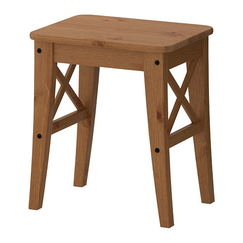 INGOLF Stool Antique Stain IKEA