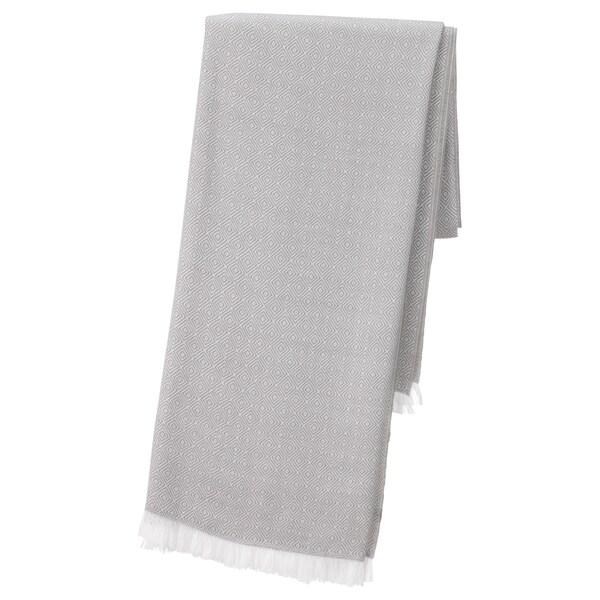 INGUNN Throw, grey, 120x180 cm