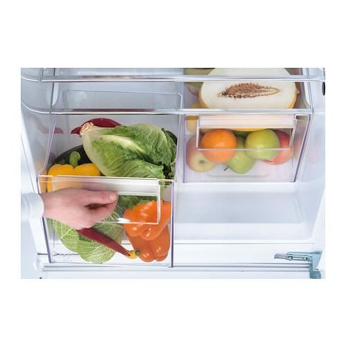 ikea isande integrated fridge freezer a. Black Bedroom Furniture Sets. Home Design Ideas