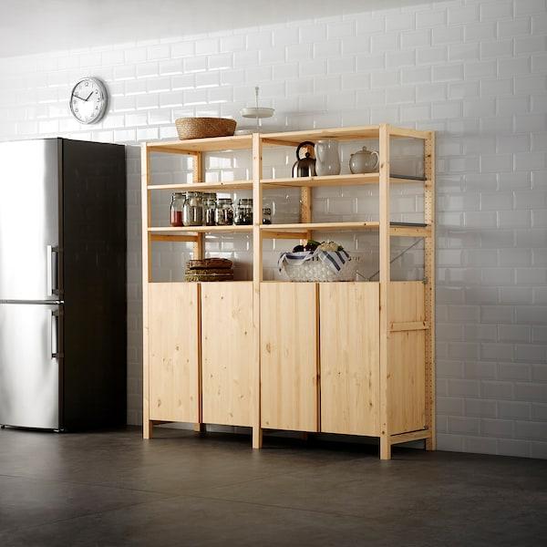 IVAR cabinet pine 80 cm 50 cm 83 cm 45 kg