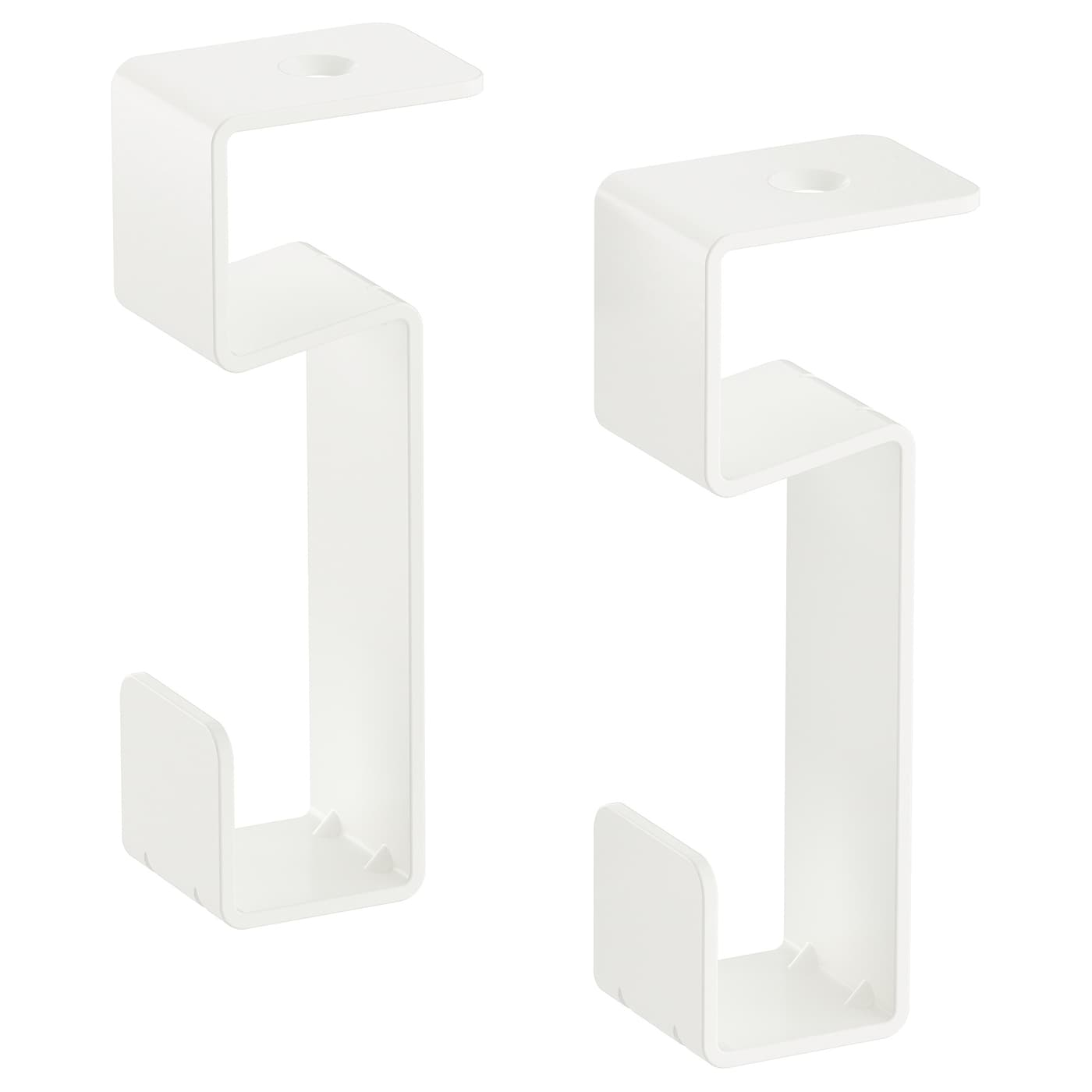 IKEA IVAR hook for shelf Easy to attach and simple to move.