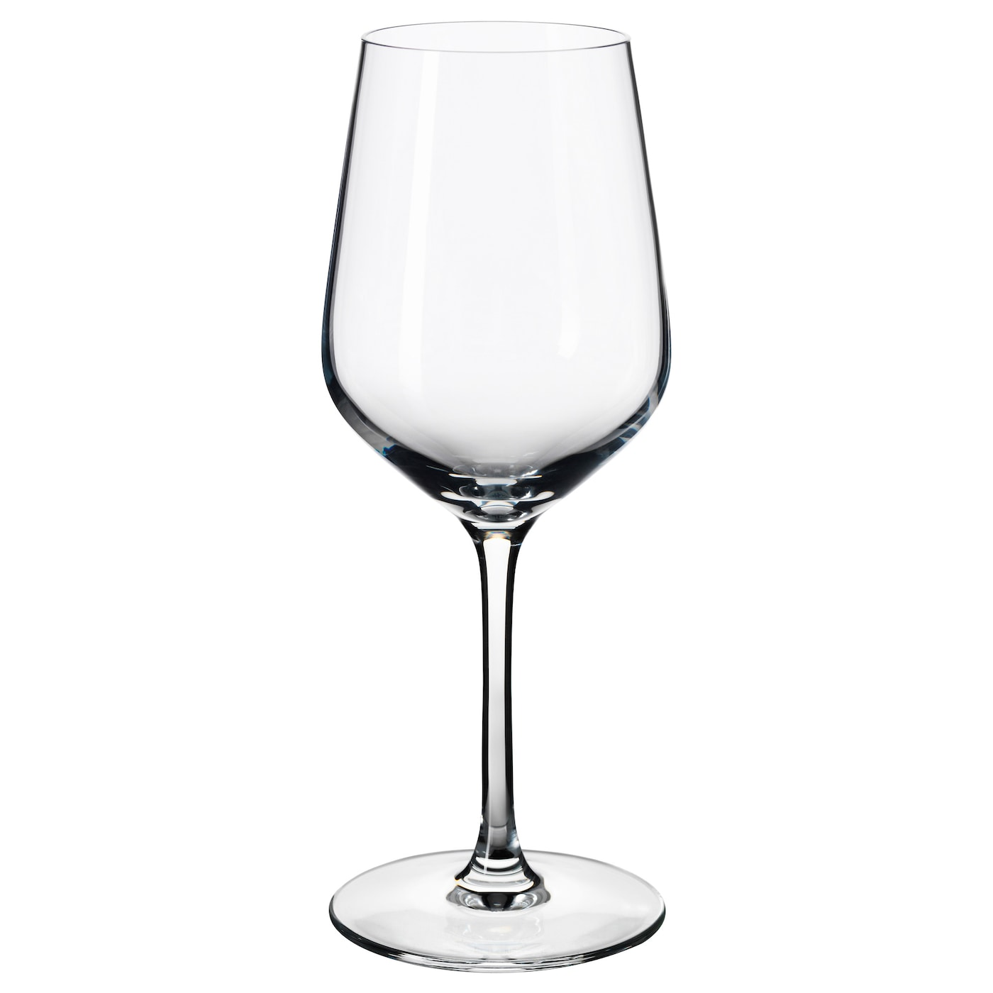 Ivrig white wine glass clear glass 26 cl ikea for Large white wine glasses