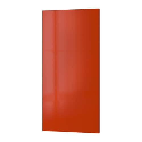 IKEA JÄRSTA door Covered with high-gloss foil; gives an easy care finish.
