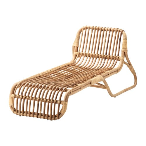 IKEA JASSA lounger Handmade by skilled craftspeople, which makes every product unique.
