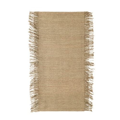 IKEA JASSA rug, flatwoven Handwoven by skilled craftspeople, and therefore unique.