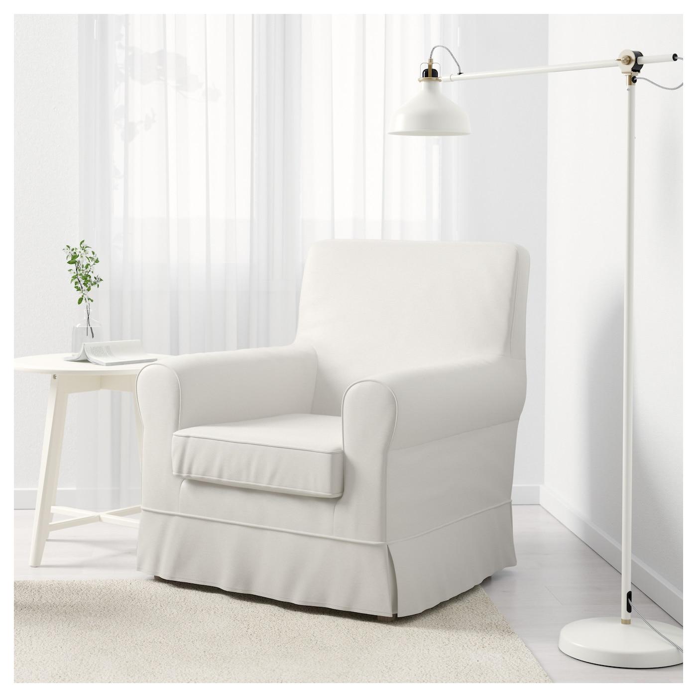Jennylund armchair sten sa white ikea for Small white armchair