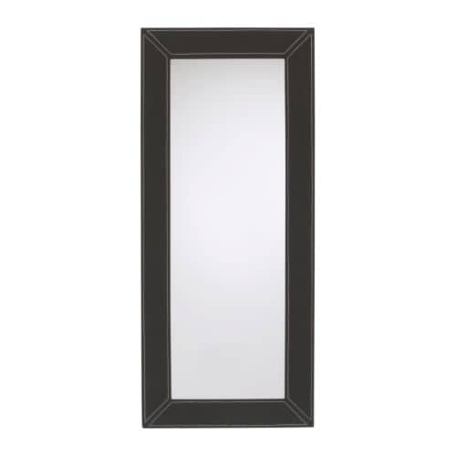 JONDAL Mirror IKEA Can be hung horizontally or vertically.  Provided with safety film - reduces damage if glass is broken.  Full-length mirror.