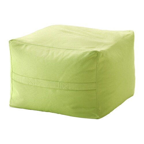 IKEA JORDBRO beanbag The cover is easy to keep clean as it is removable and can be machine washed.