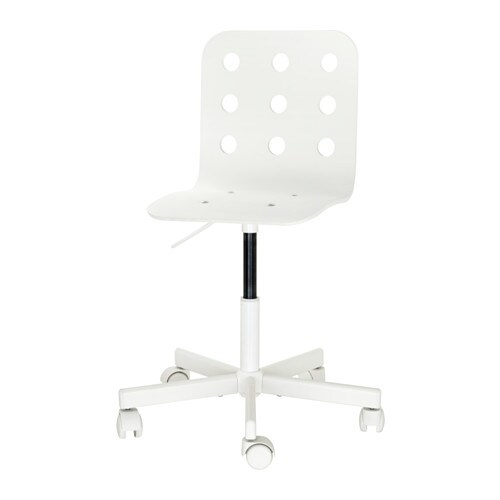 Jules children 39 s desk chair white ikea - Ikea chaise bureau enfant ...