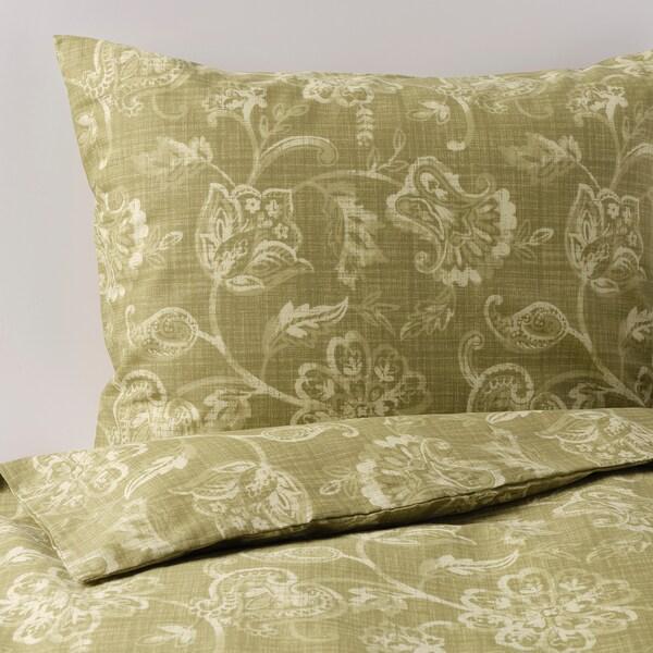 IKEA JUNIMAGNOLIA Quilt cover and 2 pillowcases