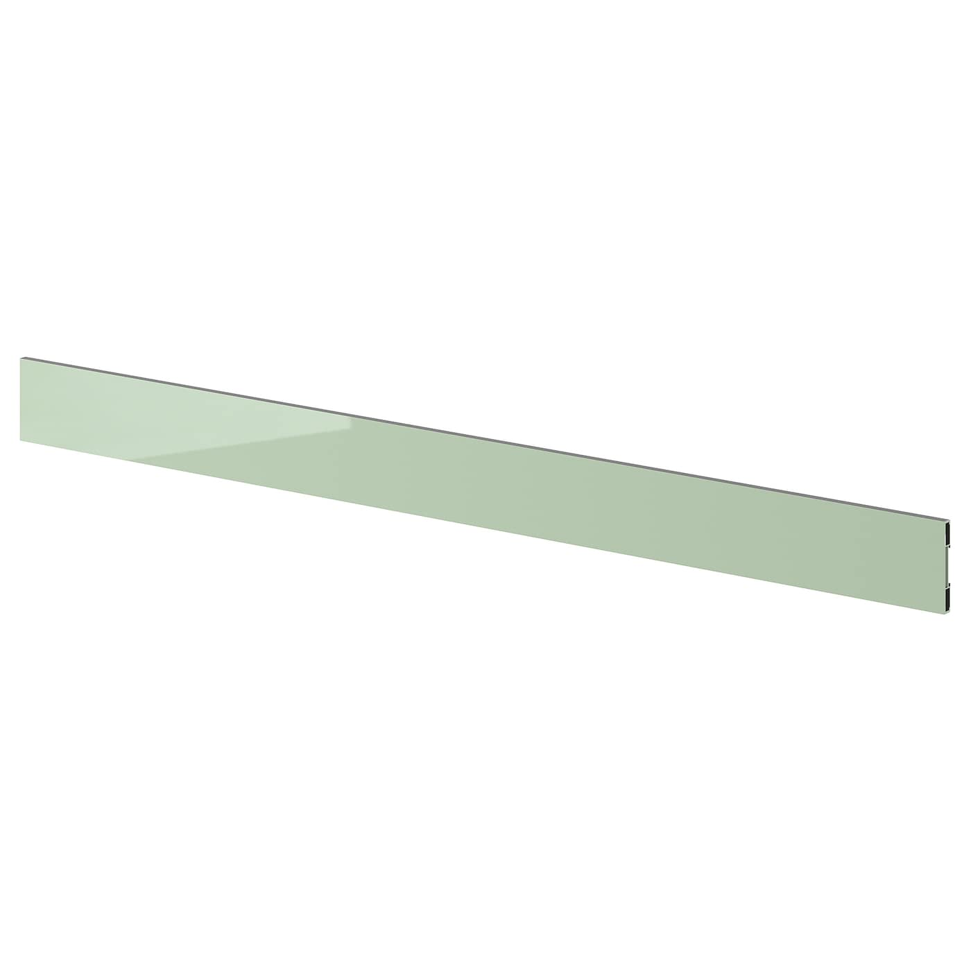 IKEA KALLARP plinth Covered with high-gloss foil; gives an easy care finish.