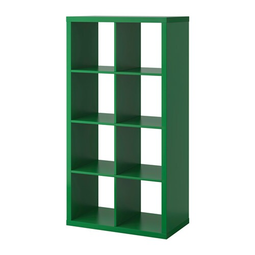 Kallax shelving unit green 77x147 cm ikea - Meuble a cases ikea ...