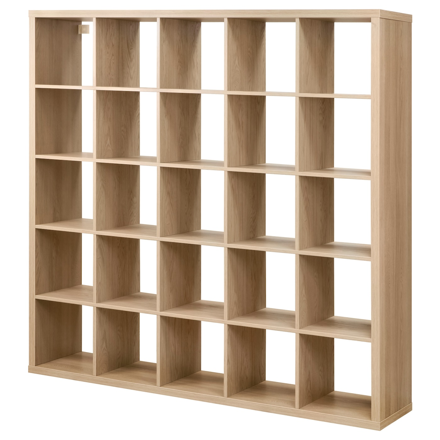 kallax shelving unit oak effect 182x182 cm ikea. Black Bedroom Furniture Sets. Home Design Ideas