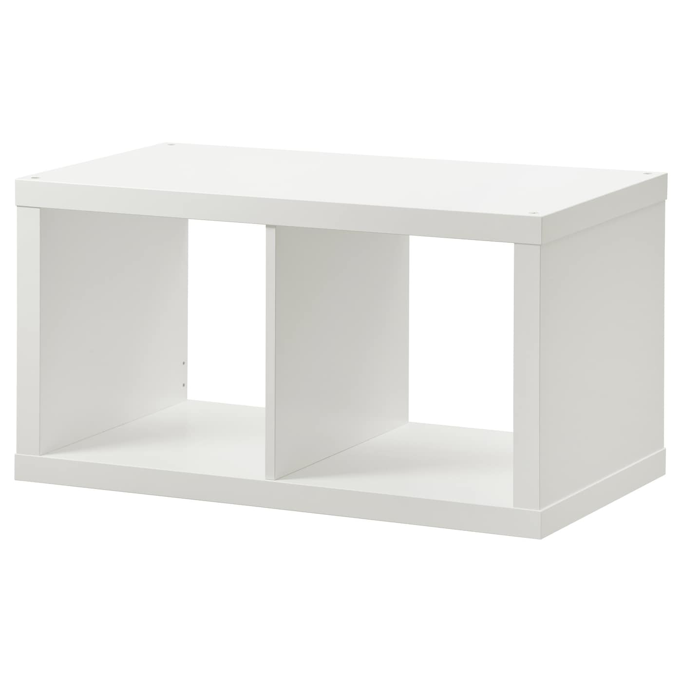 kallax shelving unit white 77 x 42 cm - ikea