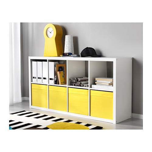 ikea kallax high gloss white. Black Bedroom Furniture Sets. Home Design Ideas