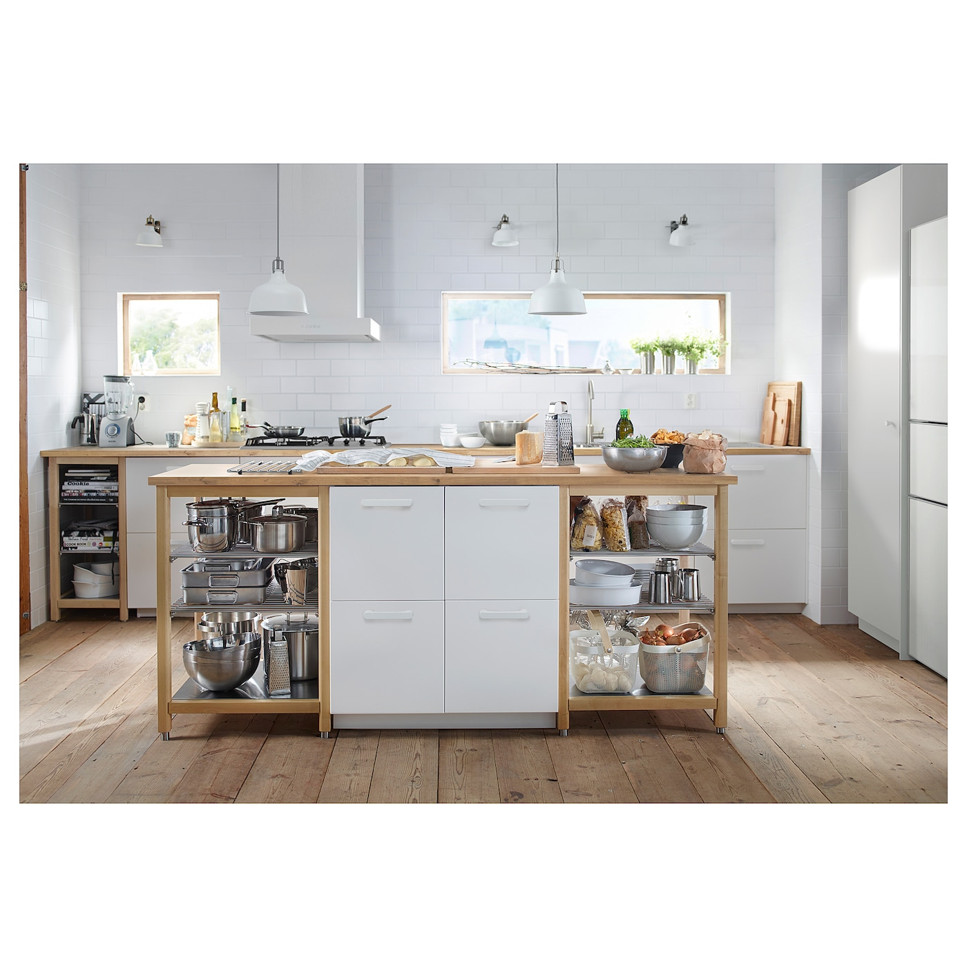 IKEA KARLBY worktop 25 year guarantee. Read about the terms in the guarantee brochure.