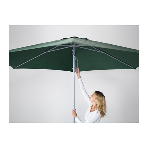 ikea karls parasol the colour stays fresh for longer as the fabric is fade resistant. Black Bedroom Furniture Sets. Home Design Ideas