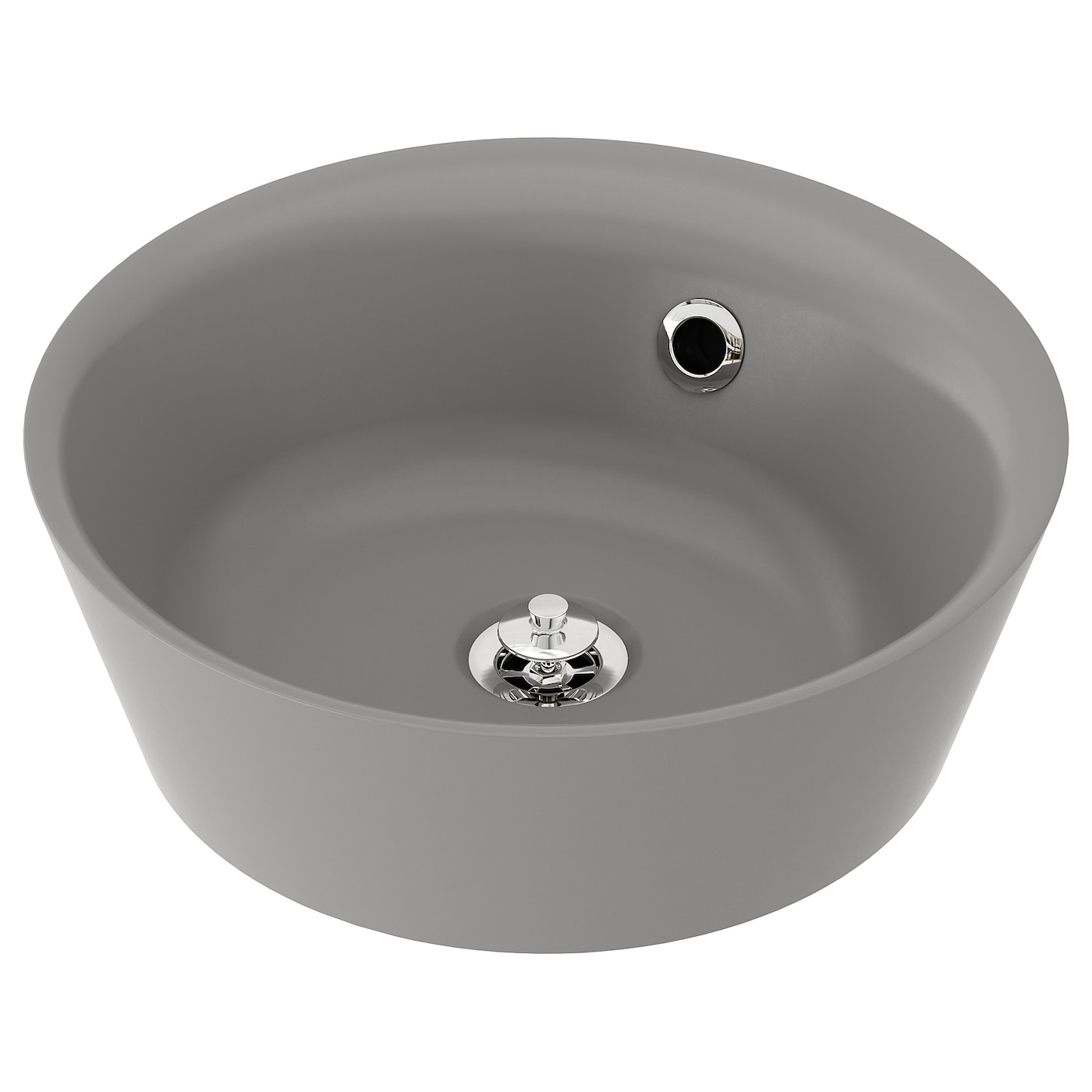 IKEA KATTEVIK countertop wash-basin Unique water trap design gives room for a full sized drawer.