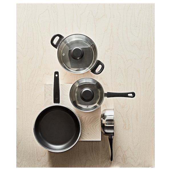KAVALKAD Frying pan, black, 28 cm