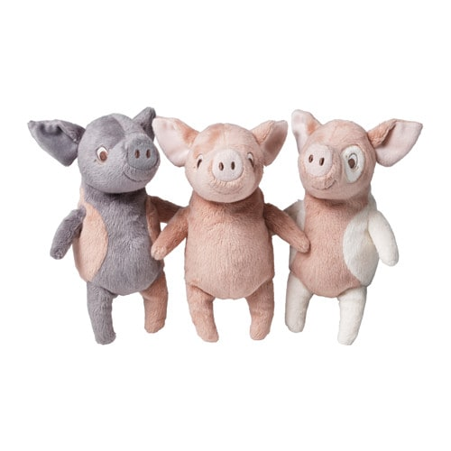 Kelgris soft toy pig assorted designs ikea for Ikea children toys