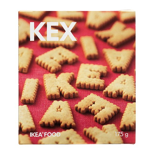 IKEA KEX biscuits Wholemeal biscuits for kids, just the right size for their little hands!