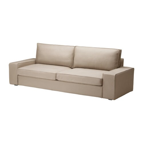 KIVIK Three-seat sofa-bed IKEA Generous seating series with a soft, deep seat and comfortable support for your back.