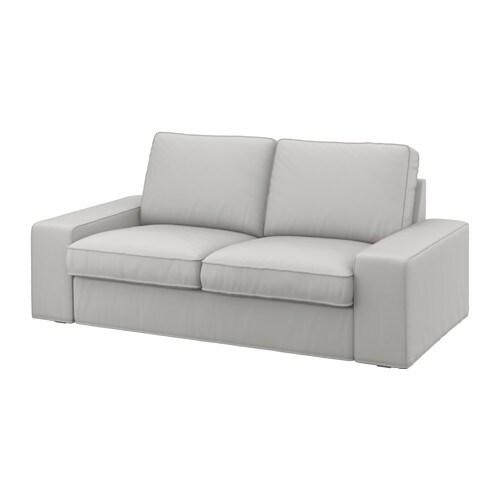 kivik two seat sofa ramna light grey ikea. Black Bedroom Furniture Sets. Home Design Ideas