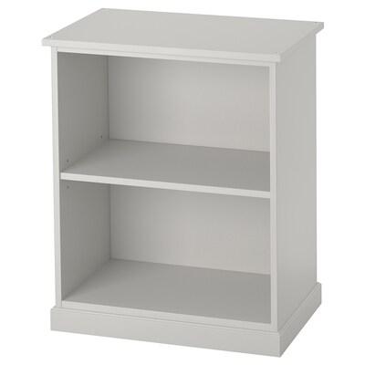 KLIMPEN Table leg with storage, light grey, 58x70 cm