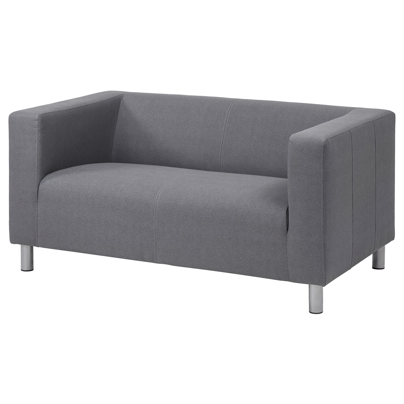 KLIPPAN Compact 10-seat sofa - Flackarp grey