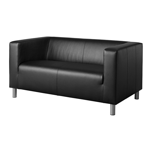 klippan compact 2 seat sofa kimstad black ikea. Black Bedroom Furniture Sets. Home Design Ideas