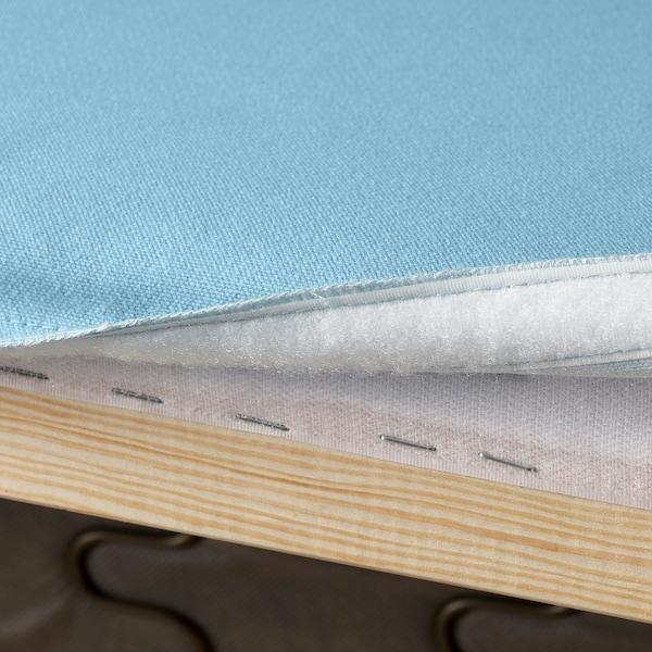 KLIPPAN Cover for 2-seat sofa, Flackarp light blue