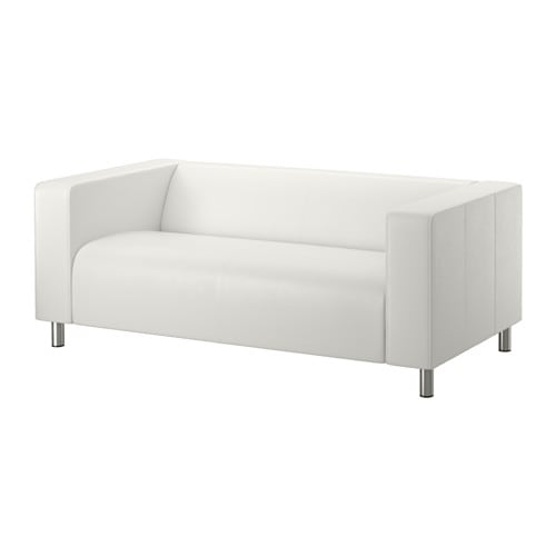 Klippan Two Seat Sofa Kimstad White Ikea