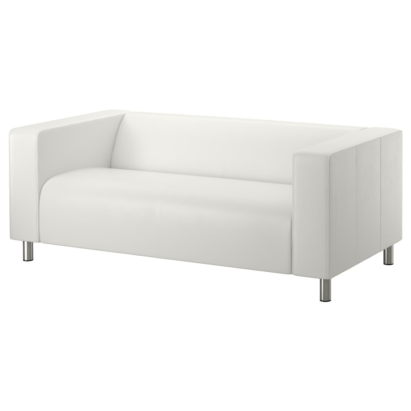 KLIPPAN Two seat sofa Kimstad white IKEA