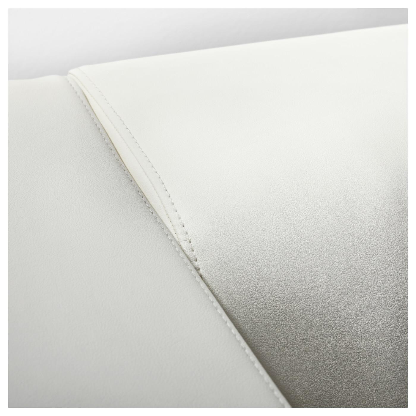 Klippan two seat sofa kimstad white ikea for Ikea klippan