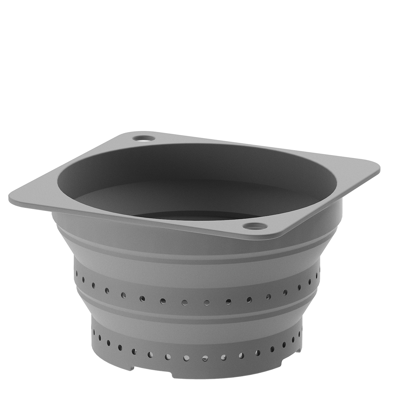 IKEA KLOCKREN colander A stable bottom edge ensures that the colander stands steady.