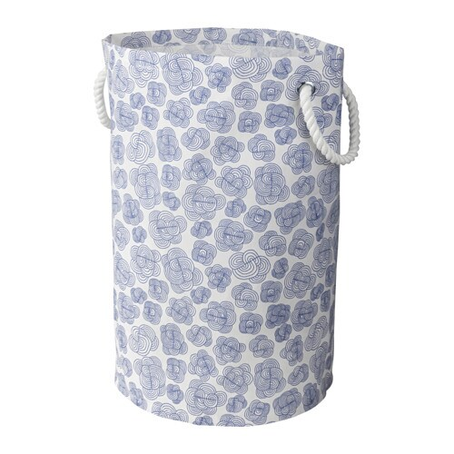 IKEA KLUNKA laundry bin Sturdy handles make this laundry basket easy to carry.