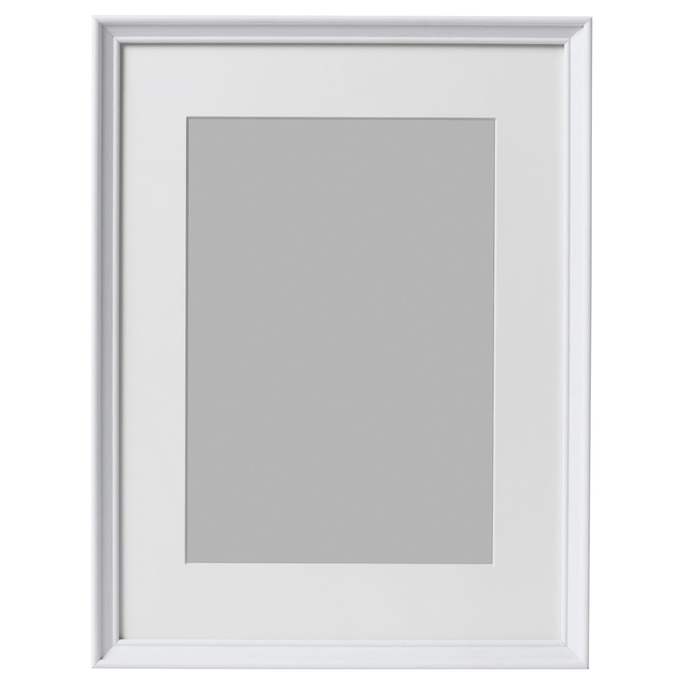 Knopp ng frame white stained 30x40 cm ikea for Ikea frames