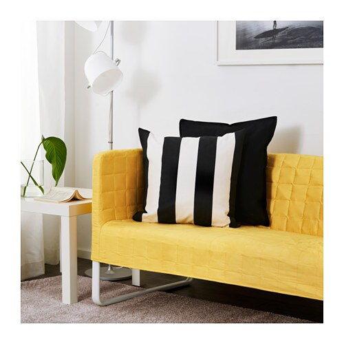 KNOPPARP Two-seat Sofa Bright Yellow