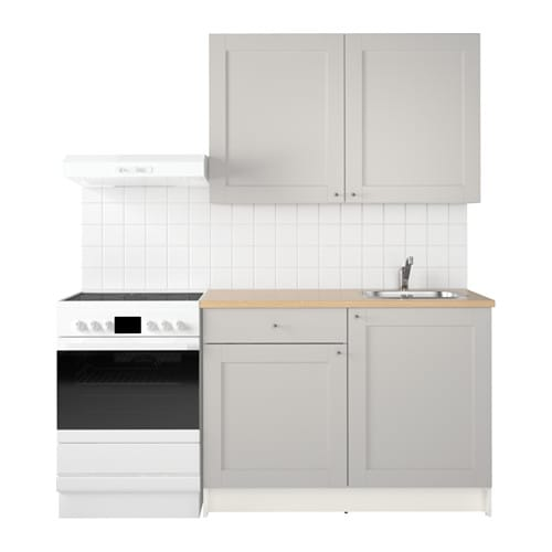 Knoxhult Kitchen Grey 120 X 61 X 220 Cm Ikea