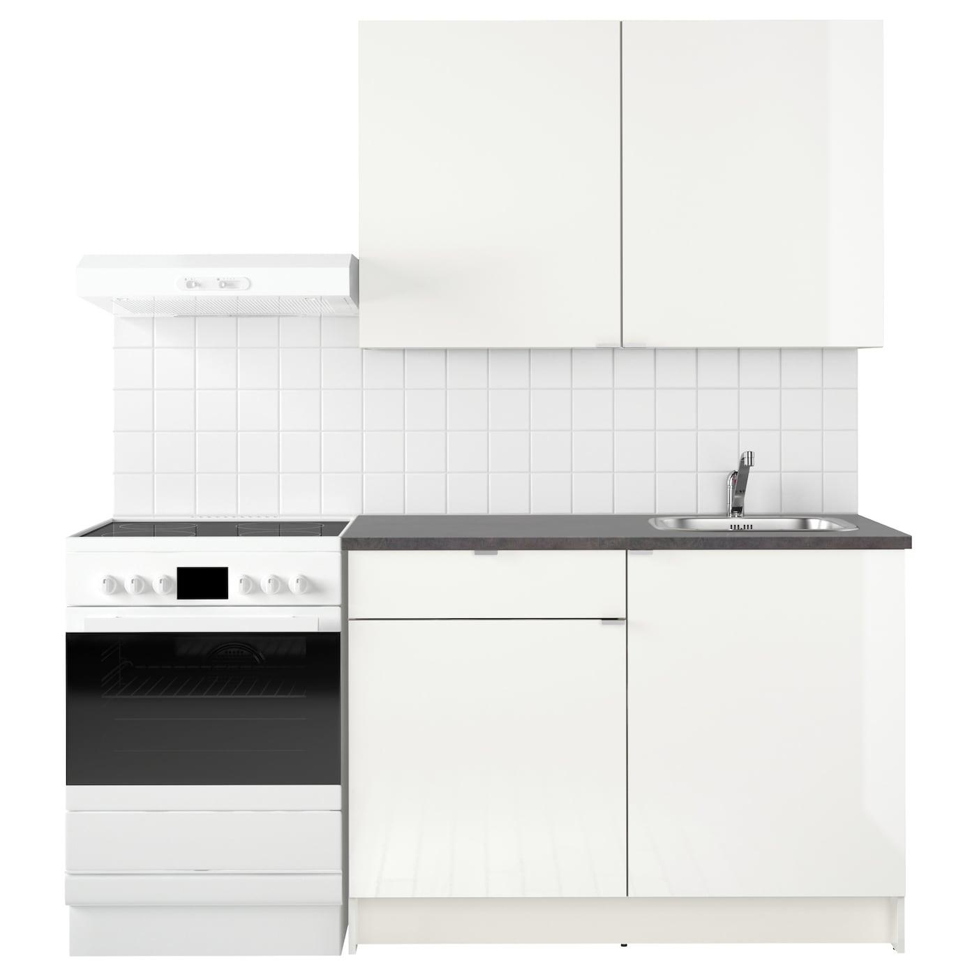 knoxhult kitchen high gloss white 120x61x220 cm ikea. Black Bedroom Furniture Sets. Home Design Ideas