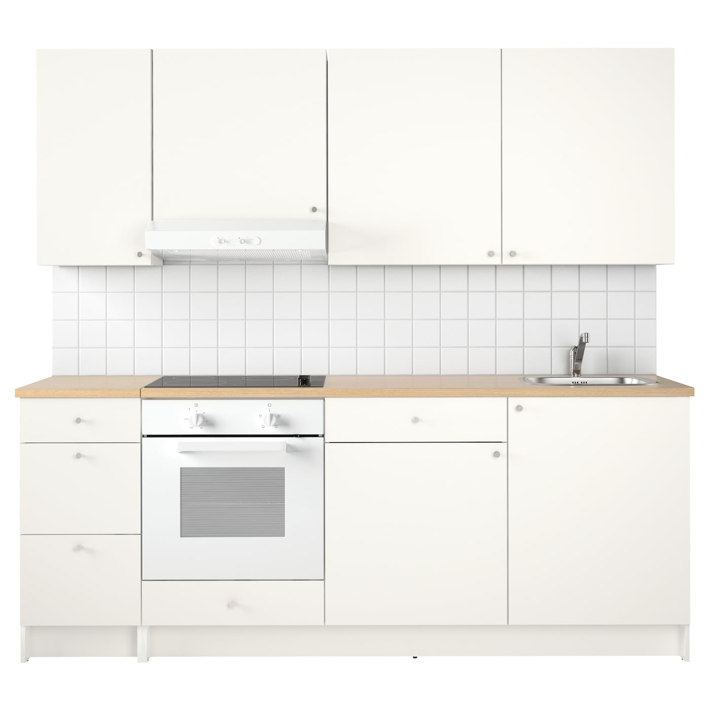 knoxhult kitchen white 220x61x220 cm ikea. Black Bedroom Furniture Sets. Home Design Ideas