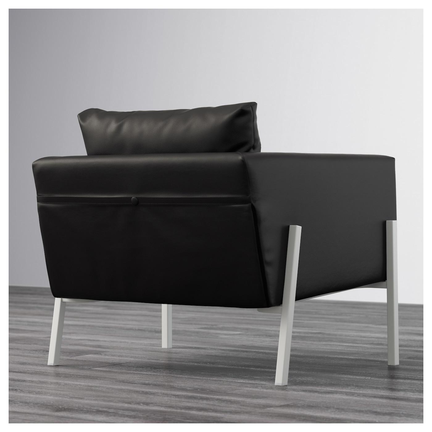 koarp armchair farsta black white ikea. Black Bedroom Furniture Sets. Home Design Ideas