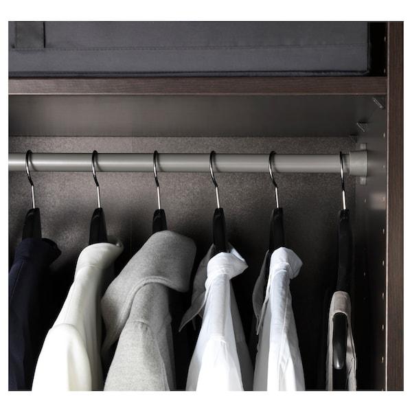 KOMPLEMENT Clothes rail, dark grey, 100 cm