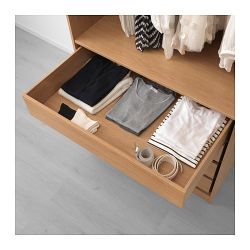 IKEA KOMPLEMENT drawer 10 year guarantee. Read about the terms in the guarantee brochure.