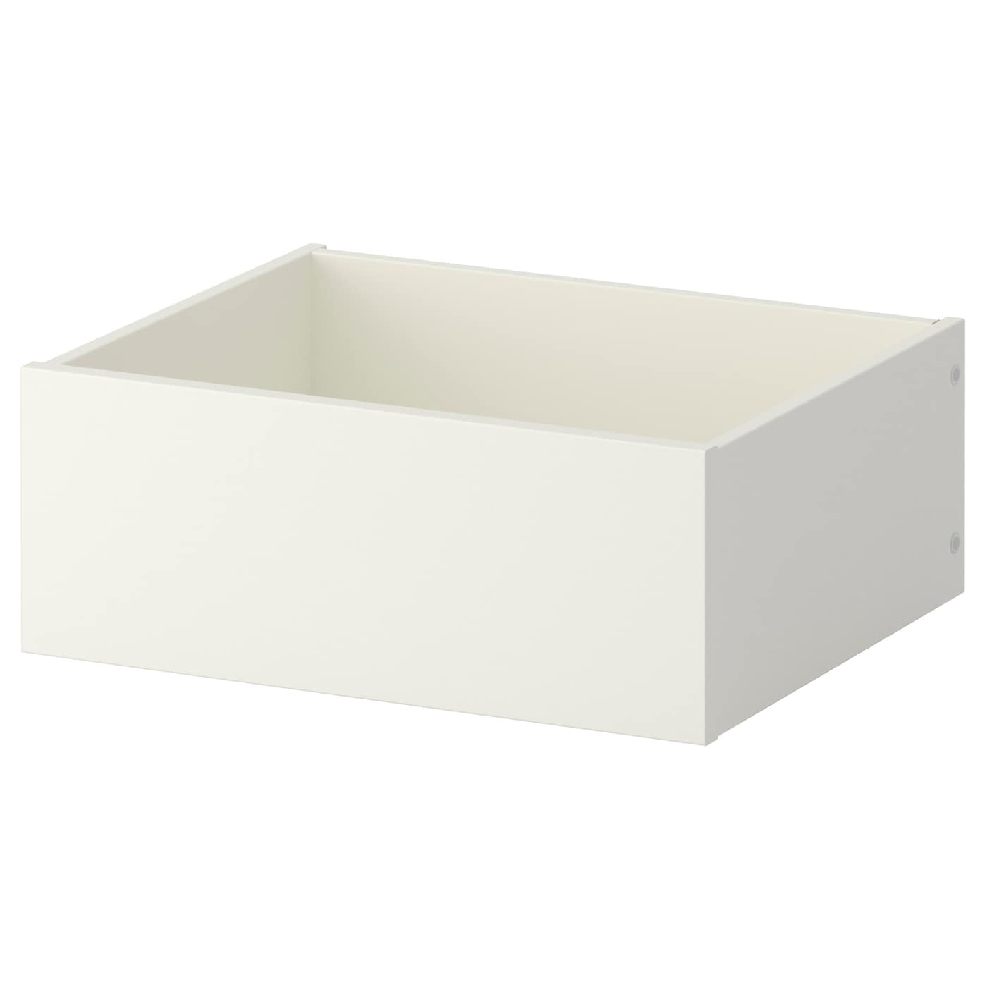Komplement drawer white 50x35 cm ikea for Ikea complementi