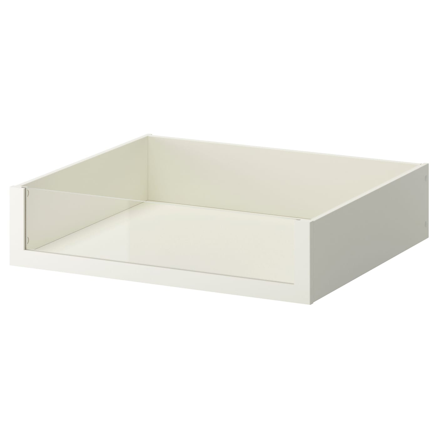 komplement drawer with glass front white 75 x 58 cm ikea. Black Bedroom Furniture Sets. Home Design Ideas