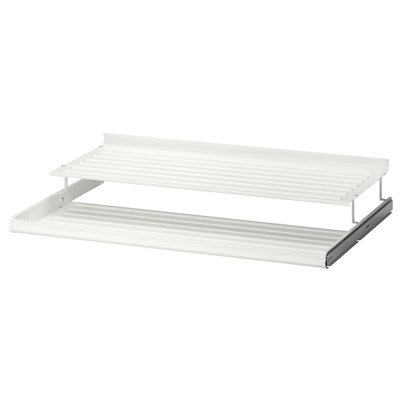 komplement pull out shoe shelf white 100 x 58 cm ikea. Black Bedroom Furniture Sets. Home Design Ideas