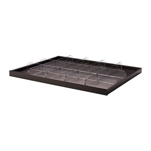 IKEA KOMPLEMENT pull-out tray with divider