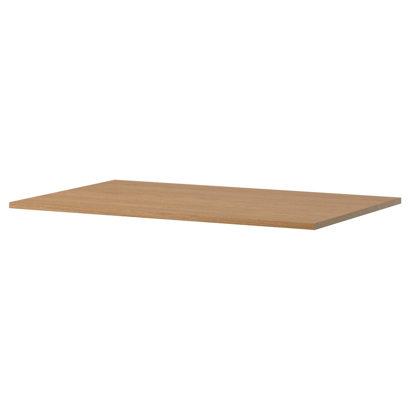 komplement shelf oak effect 100 x 58 cm ikea. Black Bedroom Furniture Sets. Home Design Ideas