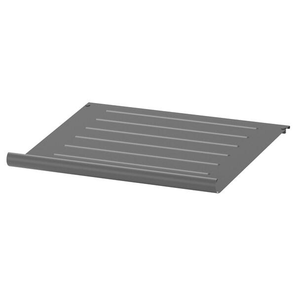 KOMPLEMENT Shoe shelf, dark grey, 50x35 cm